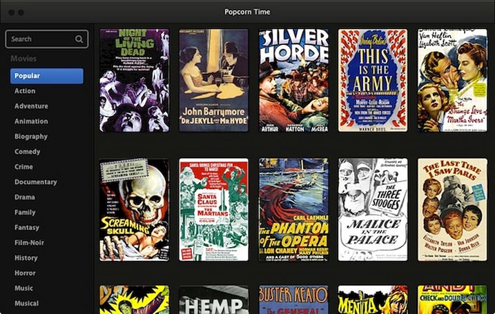 Torrent front end Popcorn Time made streaming movies free and easy, so of course it's gone (update)