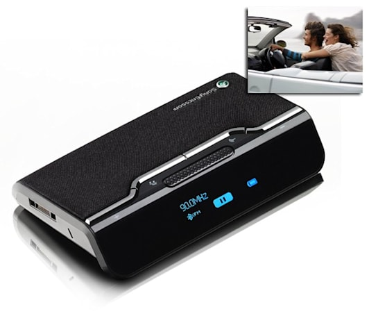 Sony Ericsson launches AB900 wireless car kit, convertible not included