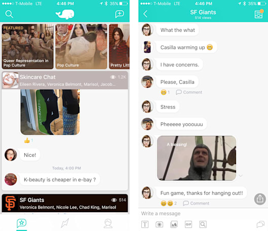 Public is an app that opens your group chats to an audience