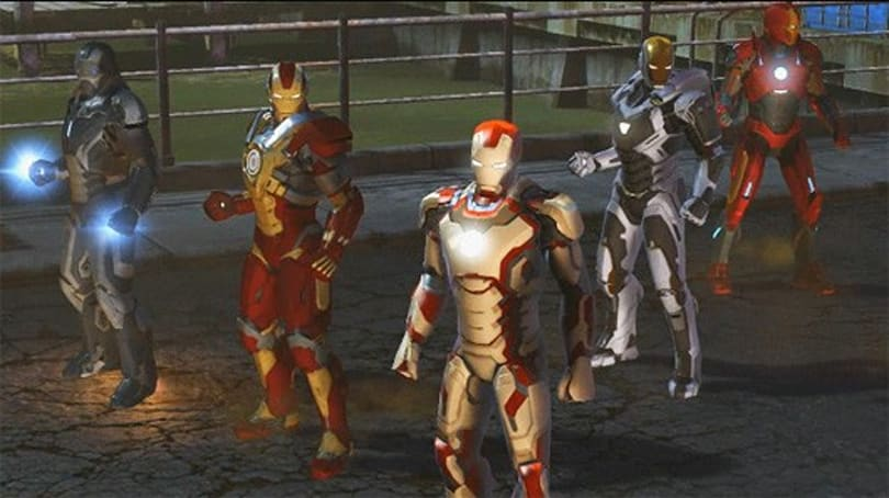 New Marvel Heroes trailer shows off Iron Man 3 specialty suits