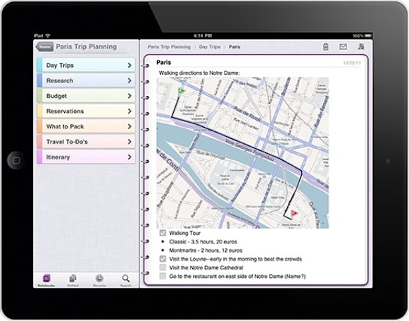 Microsoft optimizes OneNote for the iPad, thinks would make a swell Christmas gift