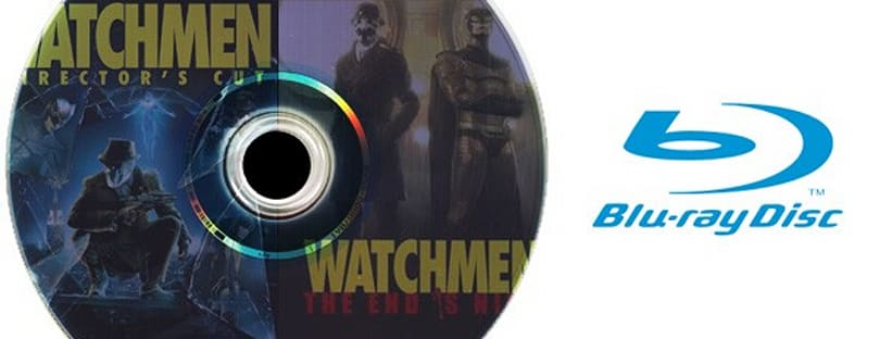Watchmen Director's Cut movie / PlayStation 3 game Blu-ray combo now available