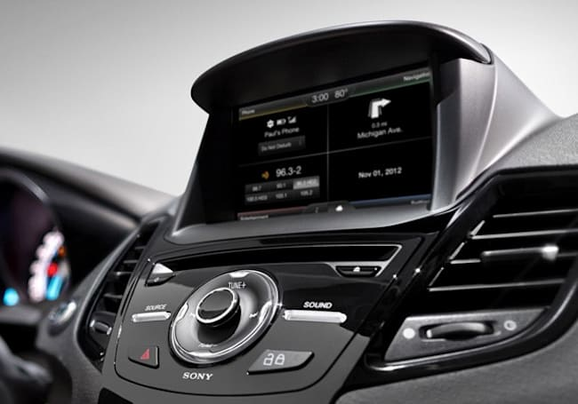 2014 Ford Fiesta gets MyFord Touch, smarter Sync voice commands