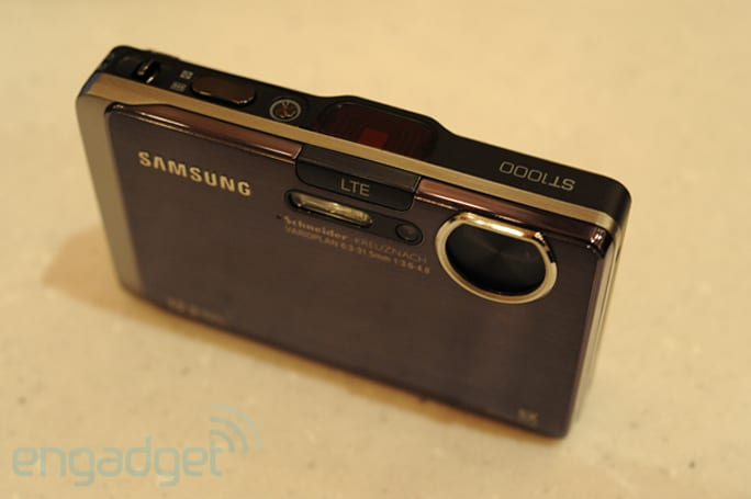 Samsung's LTE-equipped cameras, MIDs, and photo frames shill for Verizon
