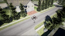 Microsoft drone simulator helps you prevent real-world crashes