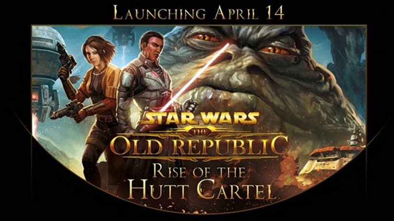 SWTOR's Hutt Cartel expansion launching April 14