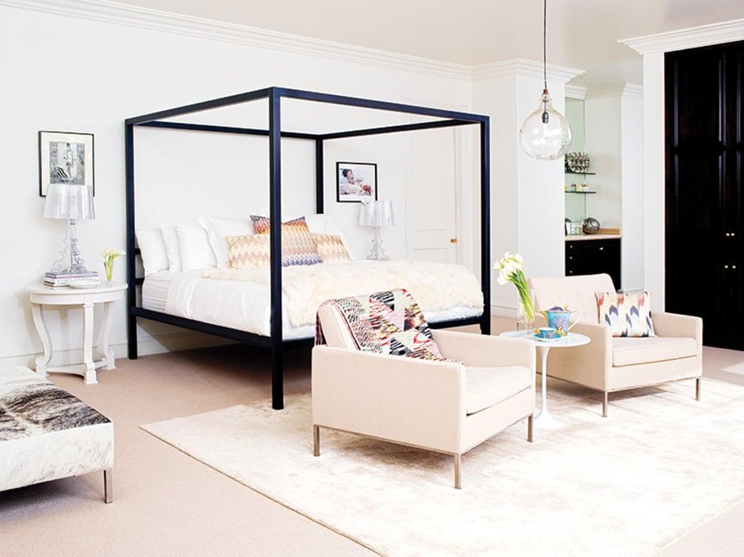 Glam decor ideas from Rachel Zoe's bedroom