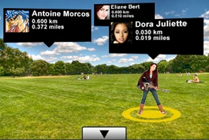 Twitter 360 Augmented Reality app for Twitter