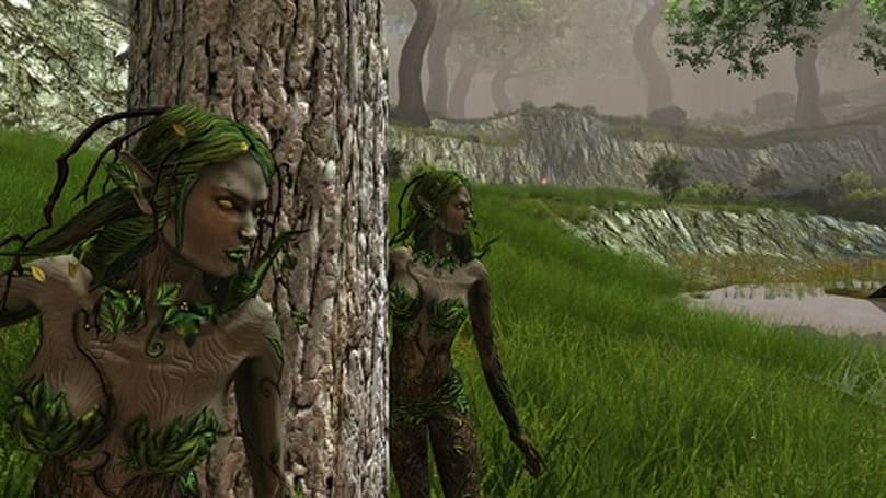DDO expansion screens show off dryads, werewolves