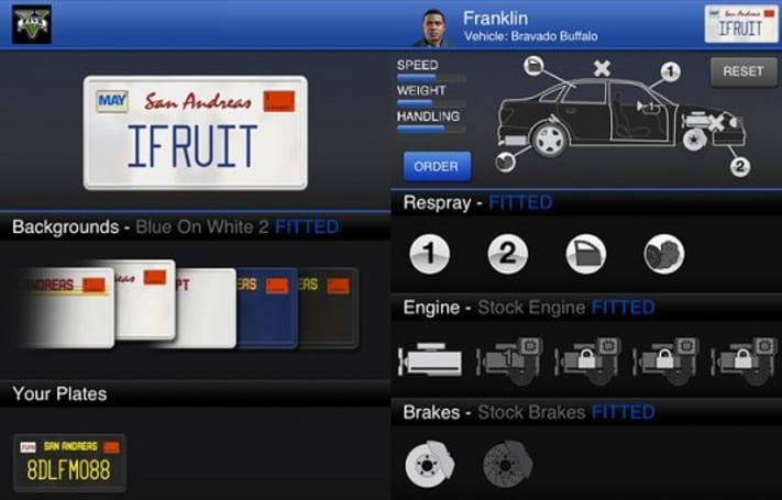 GTA 5 iFruit companion free on iOS