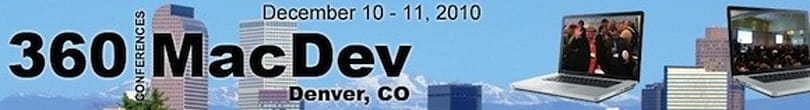 Mac developers: 360|MacDev conference scheduled for December
