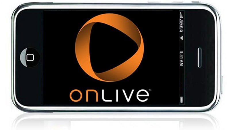OnLive 'works on cell phones too,' says Perlman