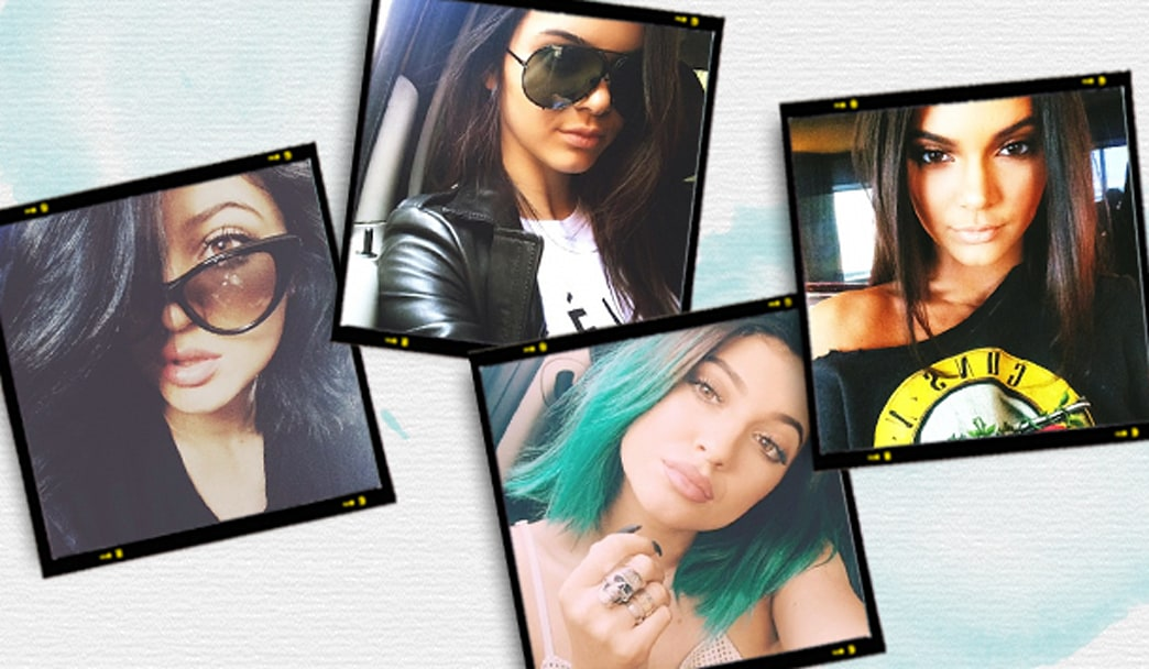 Kendall and Kylie's trick to taking the perfect selfie