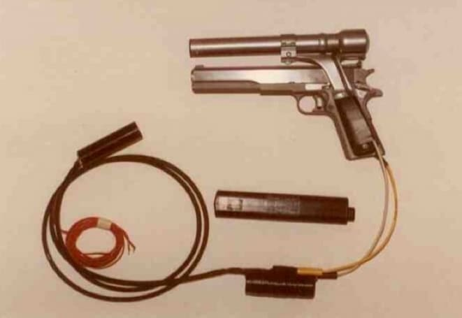 How the Terminator's .45 Longslide with laser sighting came to be (video)