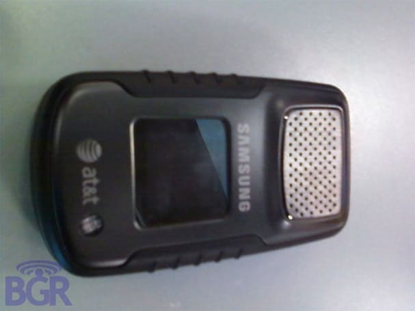 Samsung a837 coming to AT&T to do rugged battle with Verizon's Boulder