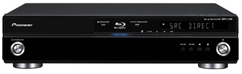 Pioneer's BDP-LX80 Blu-ray player supports HD audio bitstream output