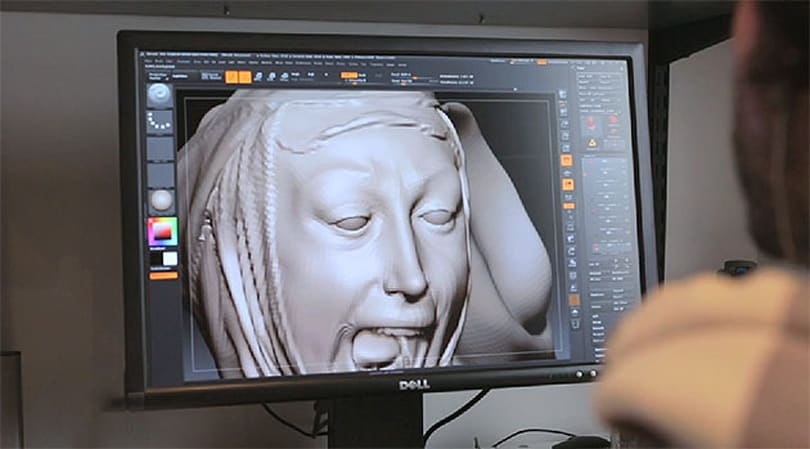 Remixing Renaissance art with help from a 3D scanner