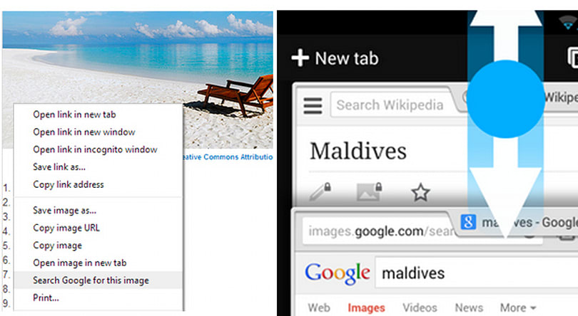 Chrome 30 beta adds quicker access to search by image, improved gestures and much, much more