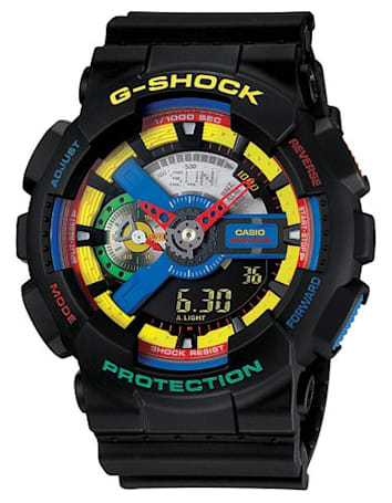 Casio's Dee and Ricky G-Shock is all business