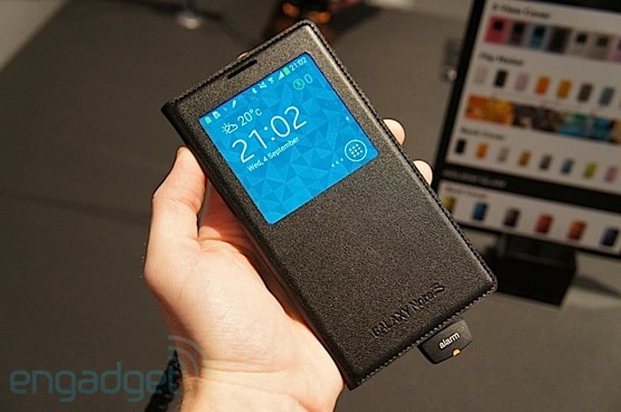 Samsung Galaxy Note 3 S View covers hands-on