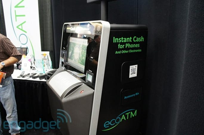 EcoATM offers instant money for your old phone, we go hands-on at CTIA E&A 2011 (video)