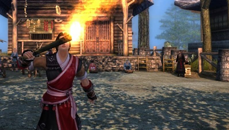 Put your Age of Wushu avatar to work while you're offline