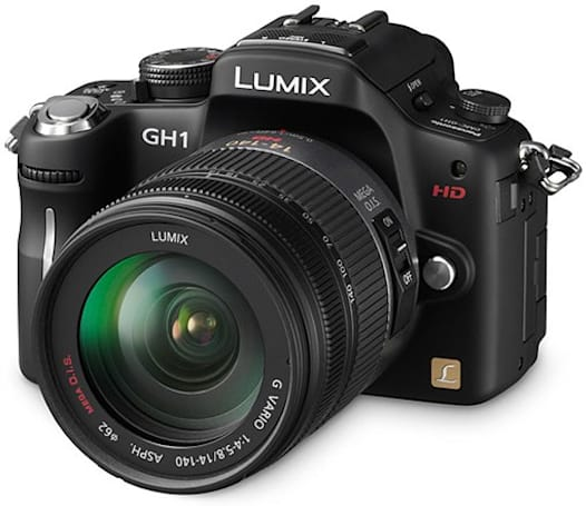 Panasonic Lumix DMC-GH1 gets firmware hack for higher quality HD video recording