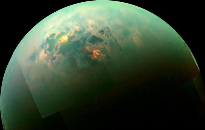 Cassini flybys probe the depths of Titan's methane sea