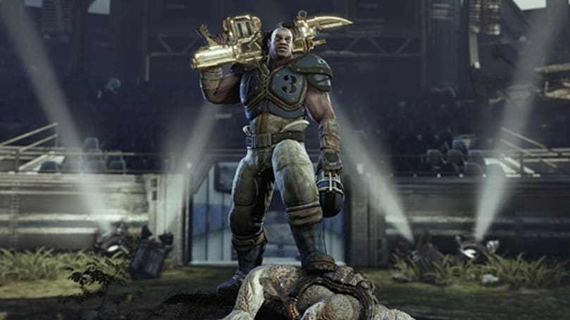 Gears of War 3 gold Retro Lancer to be exclusive multiplayer beta unlock