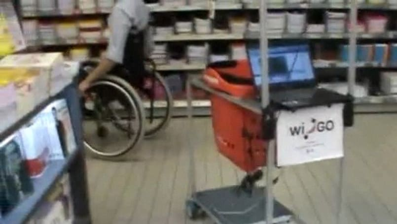Newest Kinect hack: a grocery cart that loyally follows disabled shoppers (video)