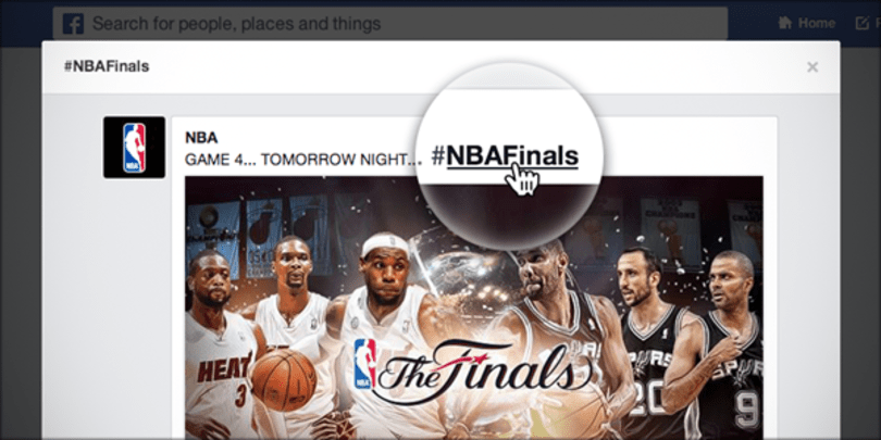 Facebook adds clickable hashtag support to your News Feed