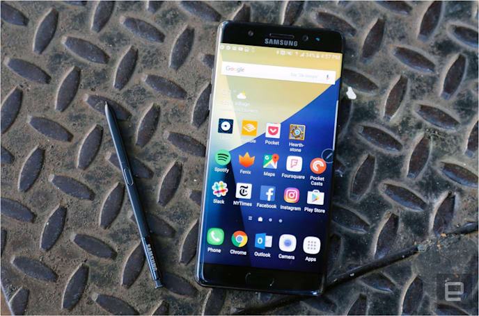 Verizon will disable the Galaxy Note 7 on January 5th