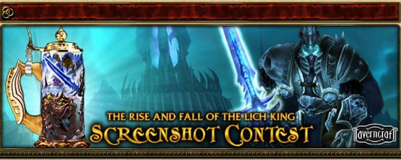 Blizzard announces Rise and Fall of the Lich King screenshot contest