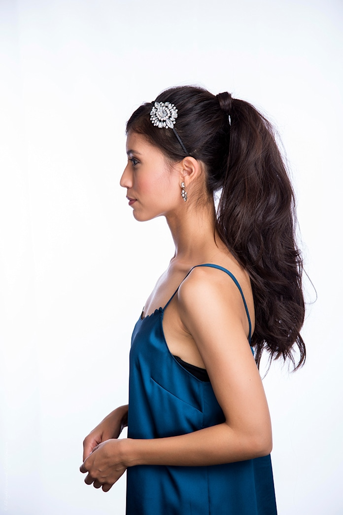 The perfect party hair: The holiday pony
