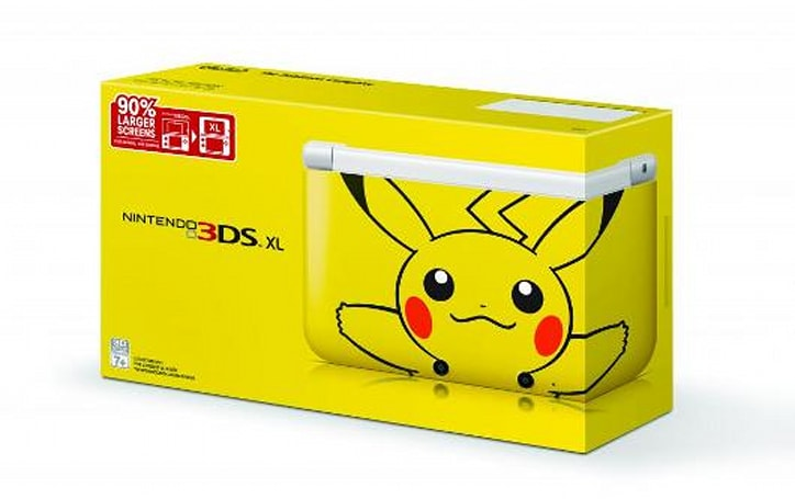 Pikachu 3DS XL sparks into North America on March 24