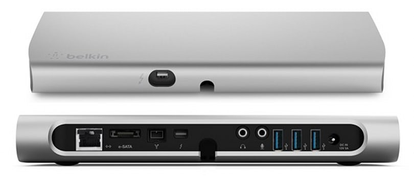 Belkin upgrades its Thunderbolt Express Dock before it's even available