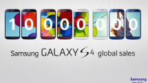 Samsung announces Galaxy S 4 sales of 10 million, new colors coming this summer (video)