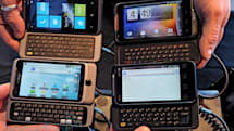 Visualized: the HTC keyboard slider family