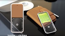 Concept handset features see-through camera viewfinder