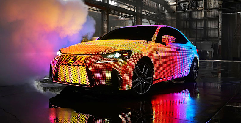 Lexus' insane LED-covered car, and more in the week that was