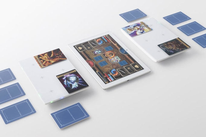Sony's Project Field brings card games to life