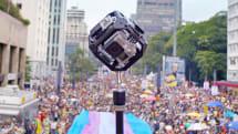 Google creates VR montage of Pride parades around the world