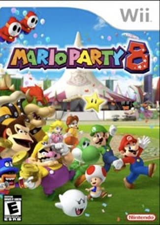 UK Mario Party crashed for 'spastic' reasons