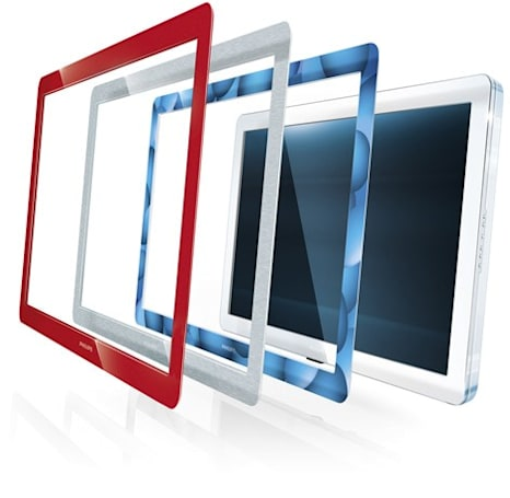 Philips introduces Flavors LCD TVs with interchangeable frames
