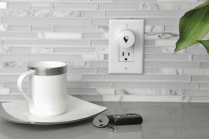 TrackR's home-mapping plugs help you pinpoint lost items