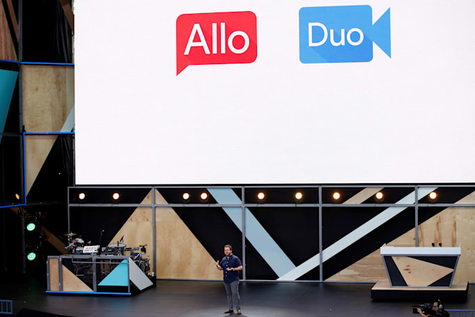 Google Allo's desktop client is in the works