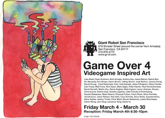 'Game Over 4' art show in SF features game-inspired art