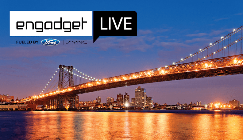 Engadget Live is making one more stop this year: New York City!