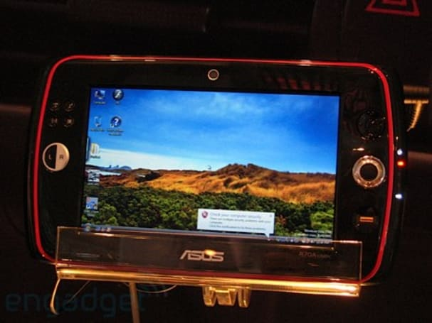 ASUS busts out 7-inch R70 UMPC at CeBIT