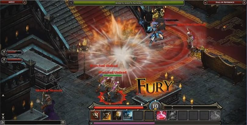 Fortune Online video dev diary details classes